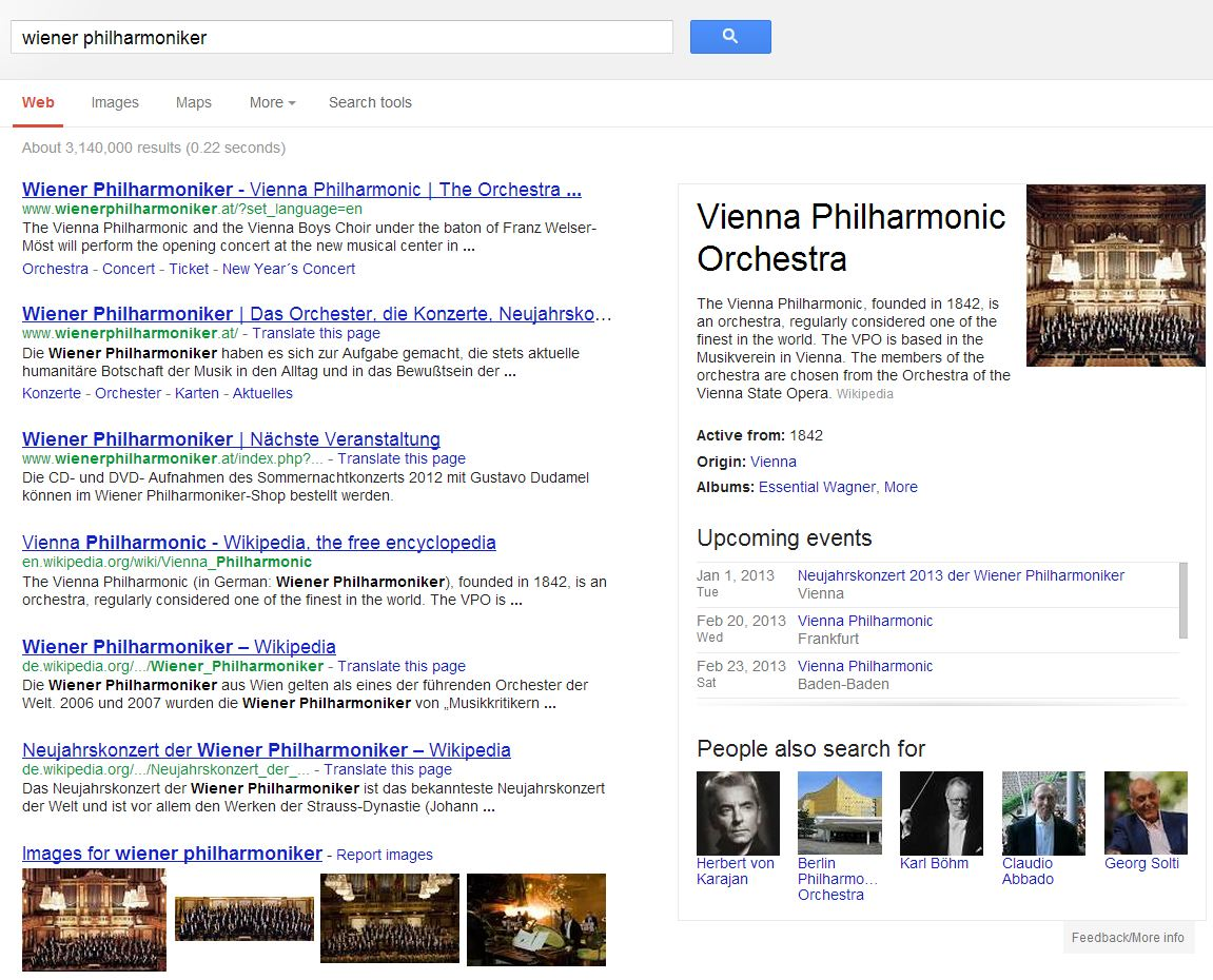 Do you like Google's Knowledge Graph? - Semantic Web Company