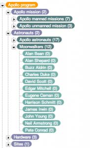 Apollo programme taxonomy