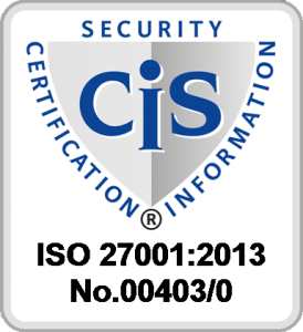 CIS Security Certification Information - ISO 27001:2013 No. 00403/0
